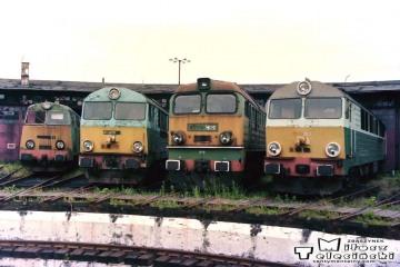 Olsztyn - lokomotywownia 14.06.1998