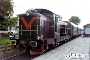 Korsze 22.06.1993. SP42-162 po przyjeździe ze Skandawy.