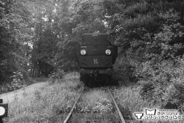 Namysłaki w dniu 28.05.1988. Parowóz Ty2-934 podczas objazdu, przed powrotem do Ostrzeszowa.