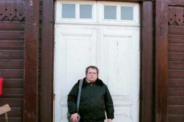 Trakiszki 23.02.1995.. Na zdjęciu ja.