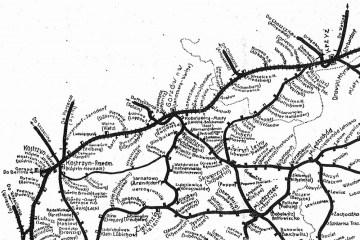 1945. Pierwsze nazwy stacji po wojnie.