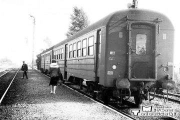 Gorzów Zieleniec 04.09.1986. Osobowy Gorzów Wlkp. - Rudnica.