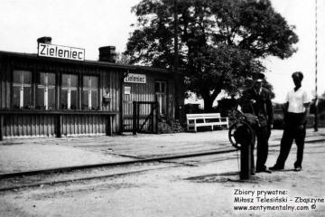 Dworzec Gorzów Zieleniec w 1957
