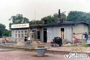 Gorzów Zieleniec 10.07.1989. Na fotce Pani Ferlacka.
