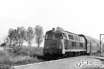 Rokitno 09.10.1990. SP45-096 z Międzychodu do Gorzowa Wlkp.