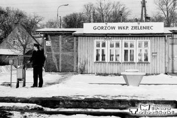 Gorzów Zieleniec zimą 1986.