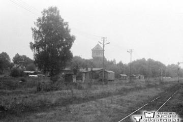 Gołdap 14.09.1989. Teren dawnej lokomotywowni.