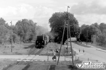 Ol49-61 z Ełku, wjeżdża do Gołdapi w dniu 16.09.1990.