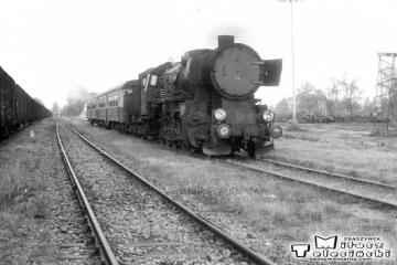 Ty2-239 w stronę Kętrzyna opuszcza Węgorzewo w dniu 11.09.1990
