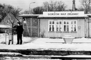 Gorzów Zieleniec zimą 1986/87
