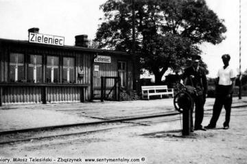 Gorzów Zieleniec w 1957 roku. Na zdjęciu Pan Dudziak.