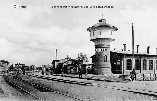 Parowozownia do 1945 roku.