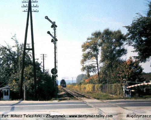 Wjazd z Sulęcina 1986