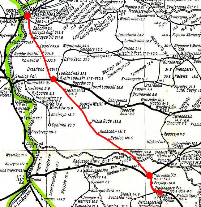 Mapka z roku 1946