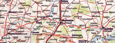 Mapka z 1941 roku