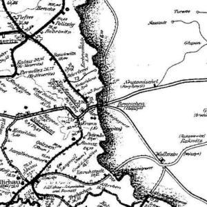 Mapka z 1943 roku