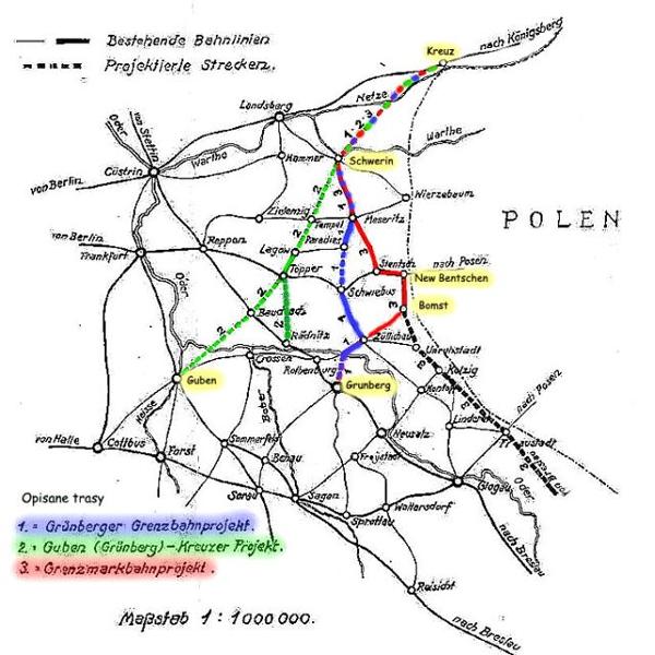 Plan rozbudowy Dyrekcji Ost. z 1930 roku