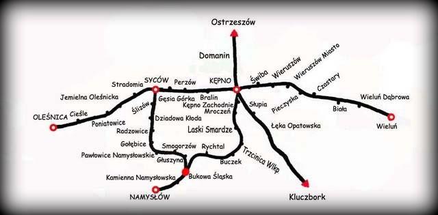 Mapka z 1946 roku