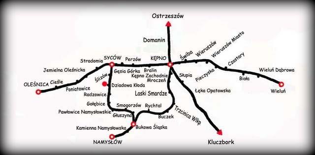 Mapka z 1946 roku.