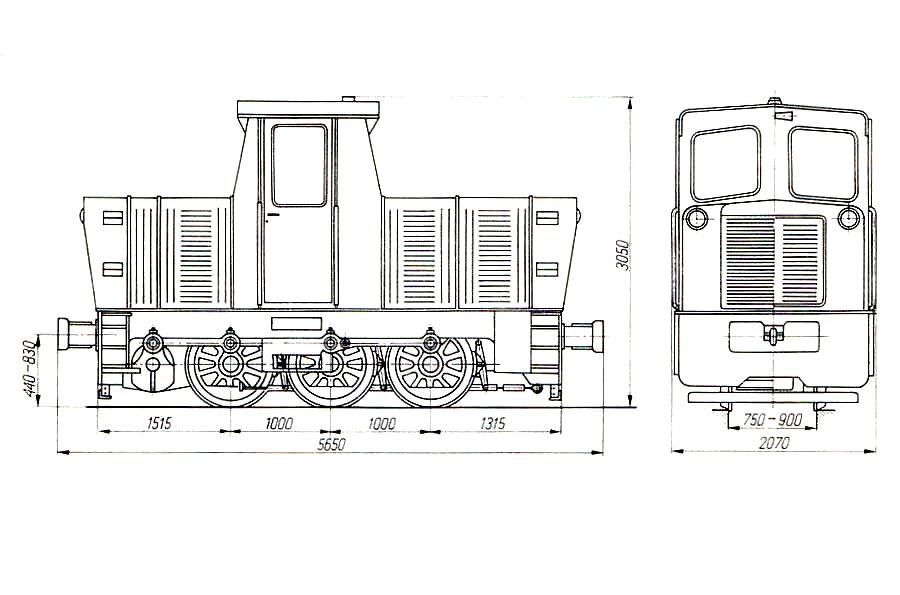 lokomotywa 803D plan