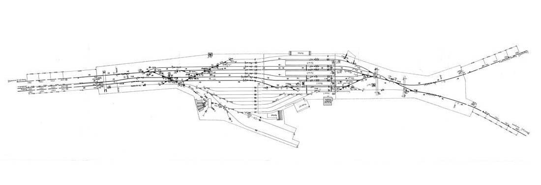 Plan stacji Sulechów