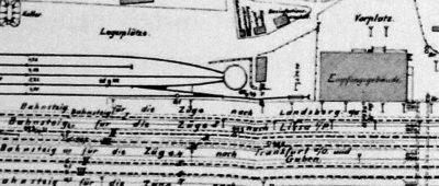 Plan peronu z 1898