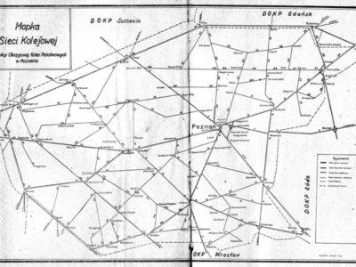 Mapka z wykazu 1945