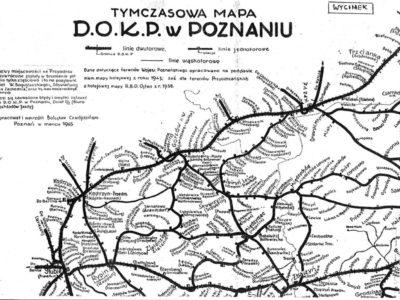 Pierwsze nazwy D.O.K.P. Poznań w 1945