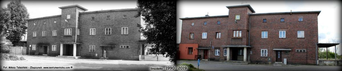 Wyżej zdjęcia dworca z 1990 i 2019 roku.