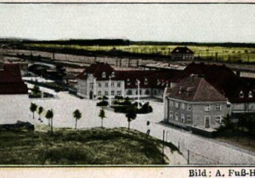 Plac Dworcowy z 1931 roku.