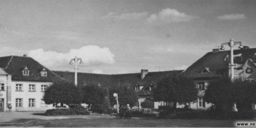 Dworzec w 1967 roku