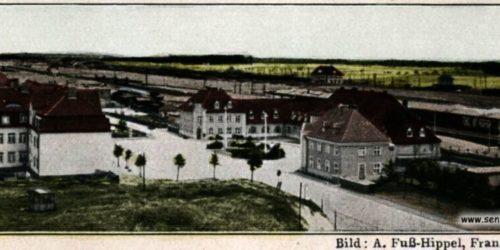 Dworzec w 1931 roku