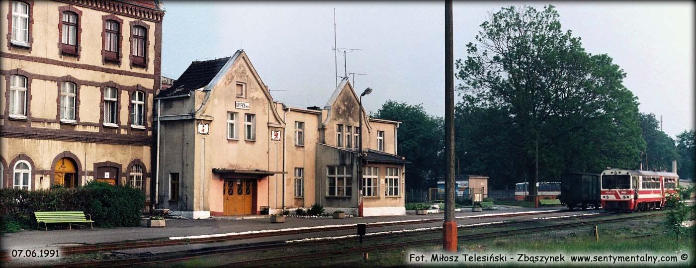 Powyższe foto wykonane w Gryficach w 1991 roku.
