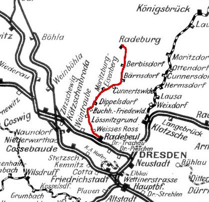 Mapka kolejki