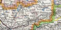 Mapka z 1887 roku