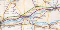 Mapka z 1949 roku