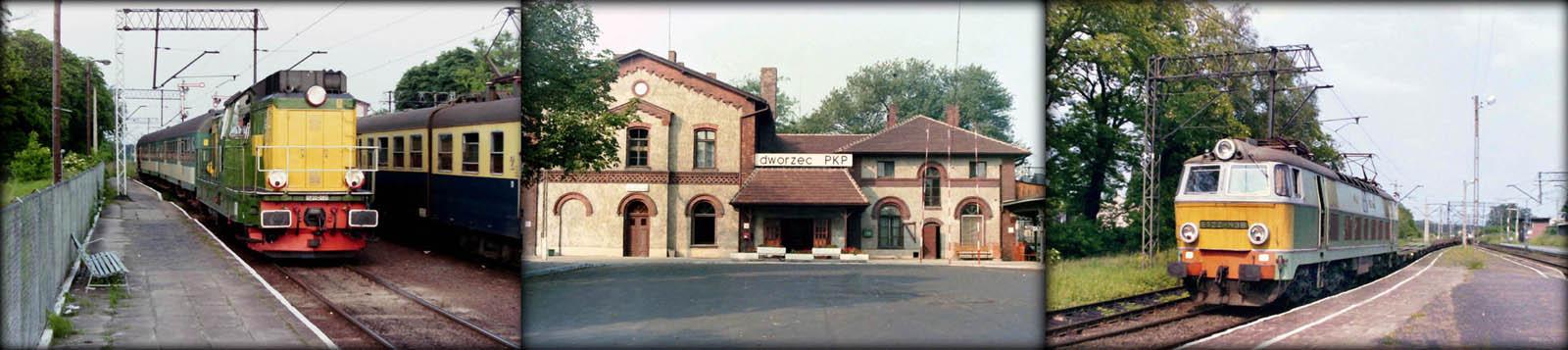 SP32-091 przyprowadziła wieczorny pociąg z Międzyrzecza do Rzepina w dniu 11.06.1994. Dworzec w dniu 23.09.1989. Rzepin 11.06.1994. ET22-438 wjeżdża z towarowym od strony Zbąszynka.