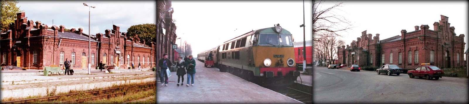 Dworzec w Suwałkach