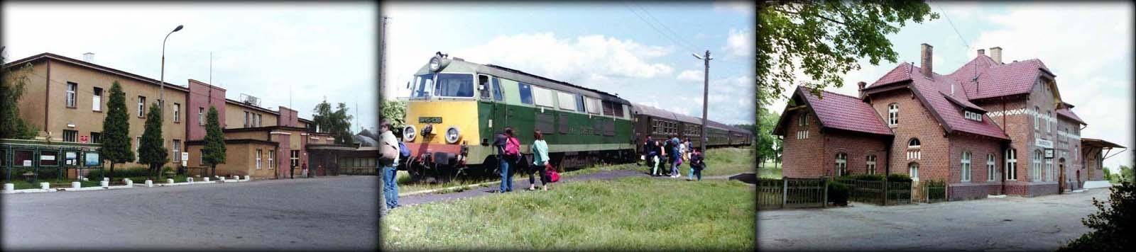 Ełk 21.06.1993, Ełk Zachodni. SU45-138 Ełk - Mikołajki - Olsztyn 18.06.1993. Mikołajki 18.06.1993