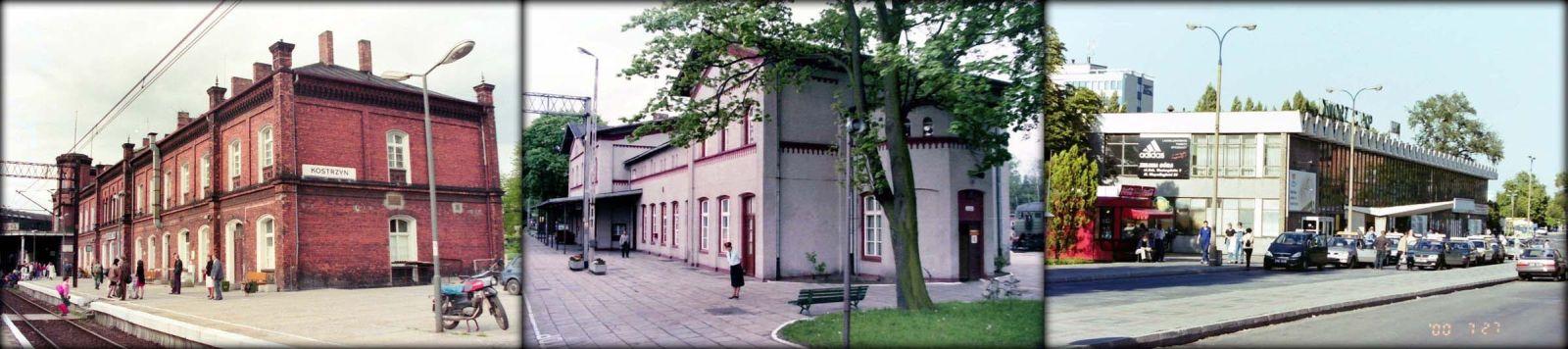 Od lewej: Kostrzyn 03.05.1992, Czerwieńsk 17.05.1994, Zielona Góra 27.04.2000.