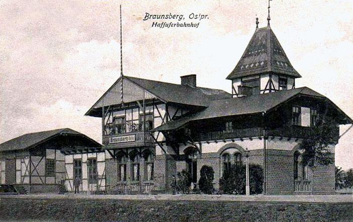 Braniewo Brama do 1945 roku