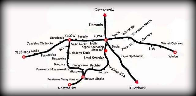 Mapka ogólna z 1946 roku