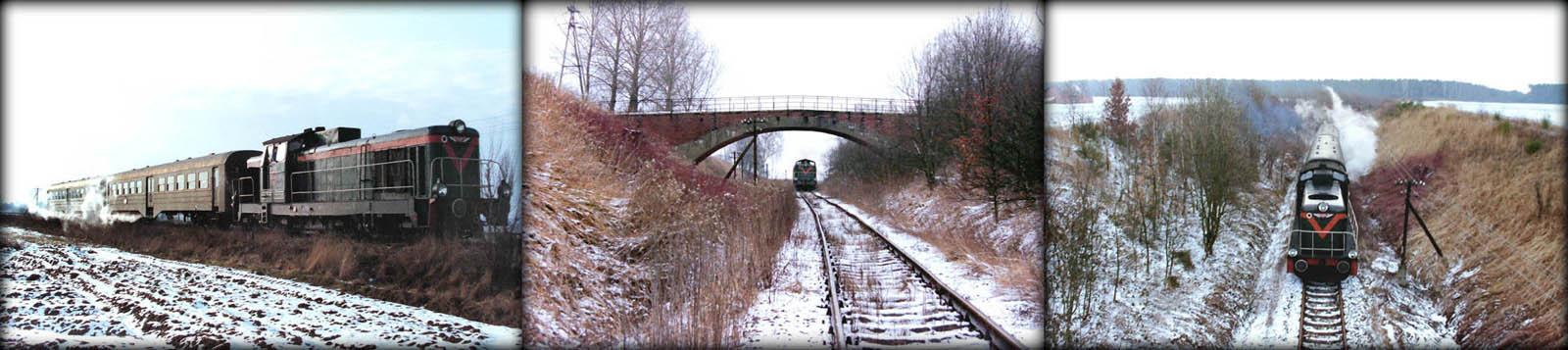Linia Kępno – Namysłów 19.02.1992.