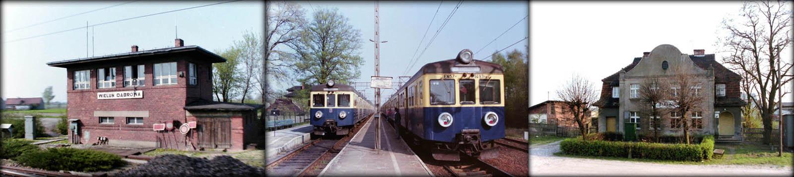Wieluń Dąbrowa, Czastary, Biała w dniu 26.04.1993.