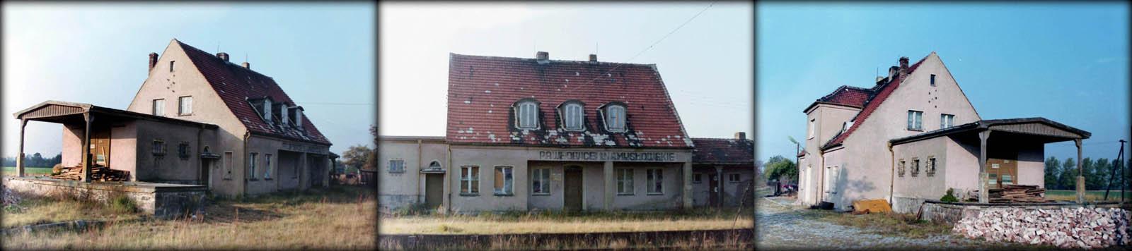 Stacja Pawłowice Namysłowskie w dniu 20.10.1992