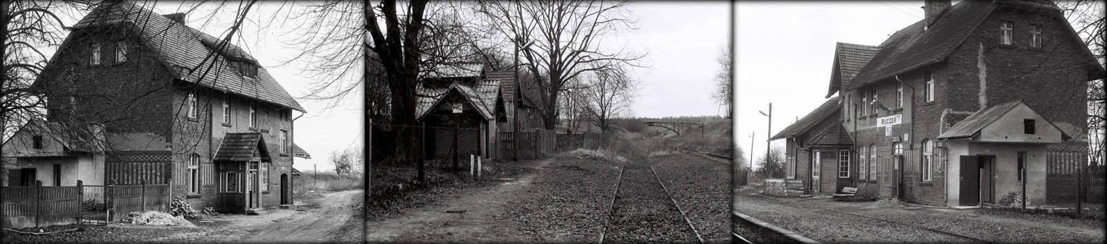 Stacja Buczek w dniu 09.01.1991 roku