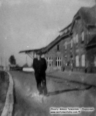 Peron w Mikołajkach około 1955 roku.
