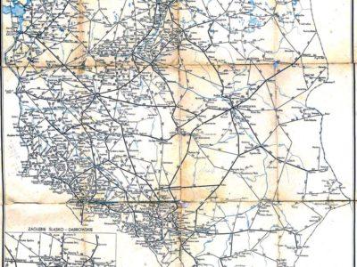 Mapka z rozkładu 1952/53