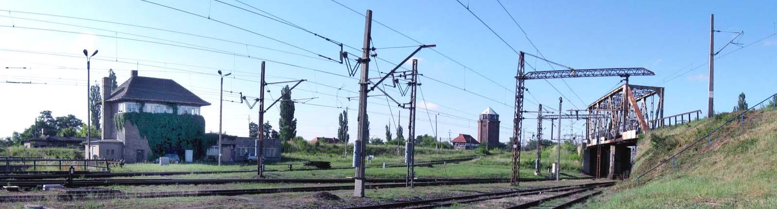 Dworzec towarowy z Zbąszynku 27.07.2009
