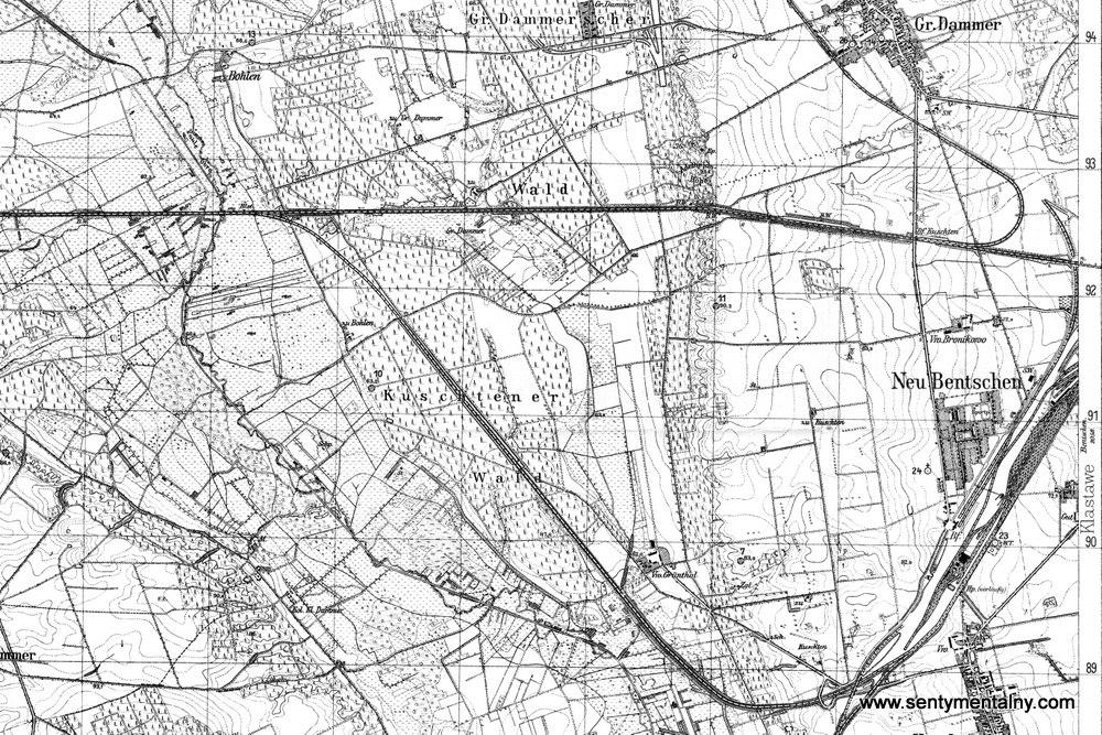 Ogólna ogranicacja ruchu w 1929 roku. Tory stare i nowe razem w użyciu. Do Międzyrzecza jeszcze połączenie tymczasowe poprzez przystanek Kosieczyn, ostatni pociąg po nim przejechał 30.04.1930 roku. Nowy tor łączący nowowybudowany dworzec z Międzyrzeczem jeszcze nie czynny, otwarto go w dniu 14.08.1930 roku.